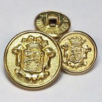 15065 Gold Blazer Button - 2 Sizes