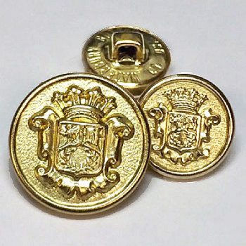 15065 Gold Blazer Button - 2 Sizes