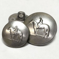 241076-Equestrian Button - 2 Sizes