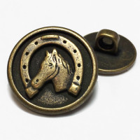 241201-Horseshoe Button - 2 Sizes