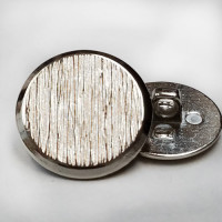 250392-Silver Blazer Button - 3 Sizes