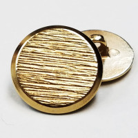 270216-Gold Blazer Button - 3 Sizes