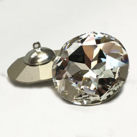 3030 Swarovski Crystal Rhinestone Button, 2 Sizes