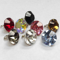 4001 Czech Rhinestones with Shank (8 Colors)