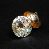4006 Swarovski Crystal Rhinestone Button, 18mm