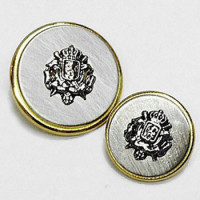410018 Metal Blazer Button - 2 Sizes