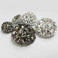 9181 Rhinestone Button (3 Sizes, 2 Colors)