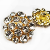 9248G Large Rhinestone Button