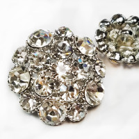 9248S Large Rhinestone Button