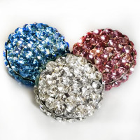 9244 Rhinestone Button (13 Colors)