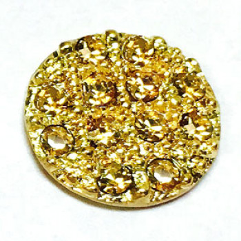 9411-Gold and Antique Gold Base (7 Stone Colors)