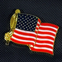 "AFP-01 American Flag Lapel Pin, 7/8"""