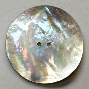 AG-110X - Large Agoya Shell Button - 3 Sizes: 35, 38, and 40mm