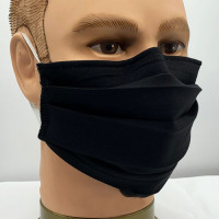 AM-100 Black Protective Face Mask — Sold per piece or in Packs of 5