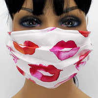 AM-160 Lip Pattern Protective Face Mask — Sold per piece or in Packs of 5