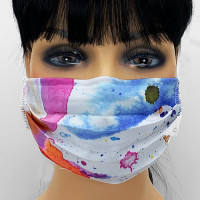 AM-162 Multi-color Protective Face Mask — Sold per piece or in Packs of 5