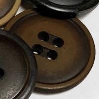 BB-4504-Fashion Button - 2 Sizes, Brown