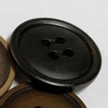 BB-4501-Fashion Button - 2 Sizes, Black
