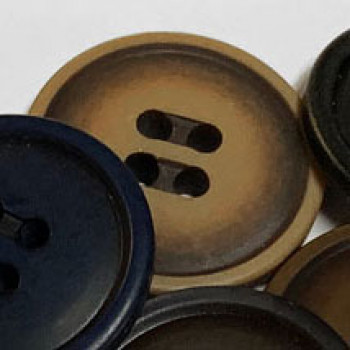 BB-4500-Fashion Button - 2 Sizes, Tan