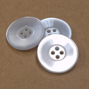 BL-150 Four-Hole Lab Coat Button - 2 Sizes, Priced per Dozen