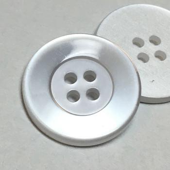 "BL-151 Four-Hole Lab Coat Button, 7/8"" - Priced per Dozen or per Gross"