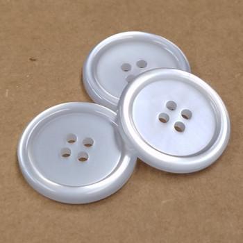 BL-152 Four-Hole Lab Coat Button - 2 Sizes, Priced per Dozen