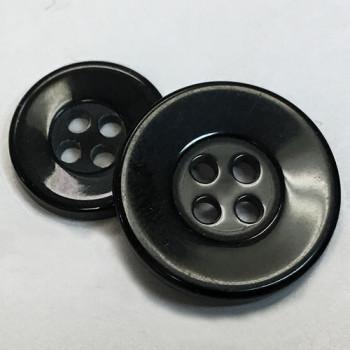 BL-160 Black Lab or Chef Coat Button - 2 Sizes, Priced per Dozen