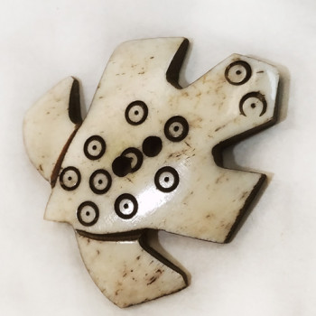 BN-064 Carved Bone Button
