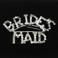BW-173A- Brides Maid Crystal Rhinestone Pin