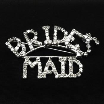BW-173A- Brides Maid Crystal Rhinestone Pin