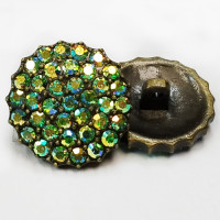 C-1055 Rhinestone Button