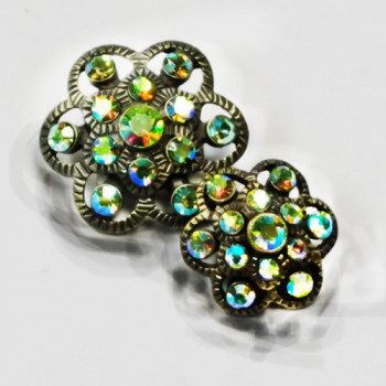 C-1060 Rhinestone Button
