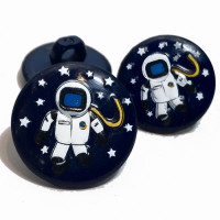 CH-270 Astronaut Button - 2 Sizes