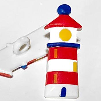 CH-2722 Lighthouse Button
