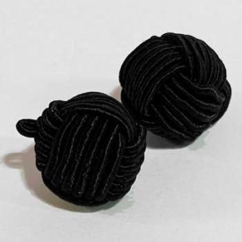 CK-11-Hand-Braided Knot Button  (14mm)