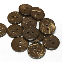 CO-105-D Coconut Button, Priced by the Dozen