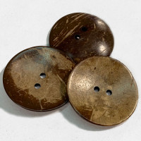 CO-25 XL - Extra Large Coconut Button, 2-1/2""