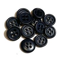 CZ-44-Genuine Corozo Shirt Button, 2 Sizes - Priced by the Dozen