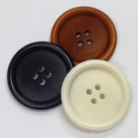 CZ-45 Genuine Corozo Button in 3 Colors, 5 Sizes