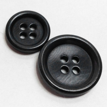 CZ-55 Dark Grey Corozo Button - 3 Sizes