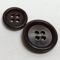 CZ-65  Brown Corozo Button - 3 Sizes