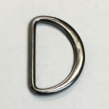 D-400 Gunmetal, 13/16 inch D-Ring