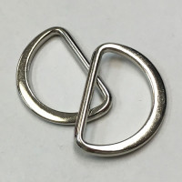 D-450 Silver, 1 inch D-Ring