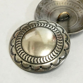 DM-70 Concho Style Metal Button, 2 Sizes