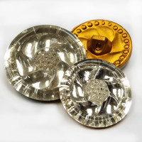 G-5041 Vintage Glass Button
