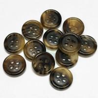 GH-100  Genuine Horn Shirt Button - 3 sizes