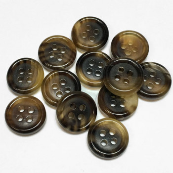 GH-100  Genuine Horn Shirt Button - 9mm only