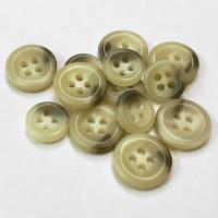 HN-202  Tan Sport Shirt Button - 2 Sizes, Priced per Dozen