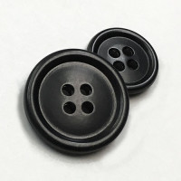 HN-301 Satin Black Suit Button - 2 Sizes