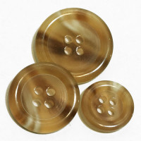 HNA-502- Light Brown Suit  Button - 3 Sizes